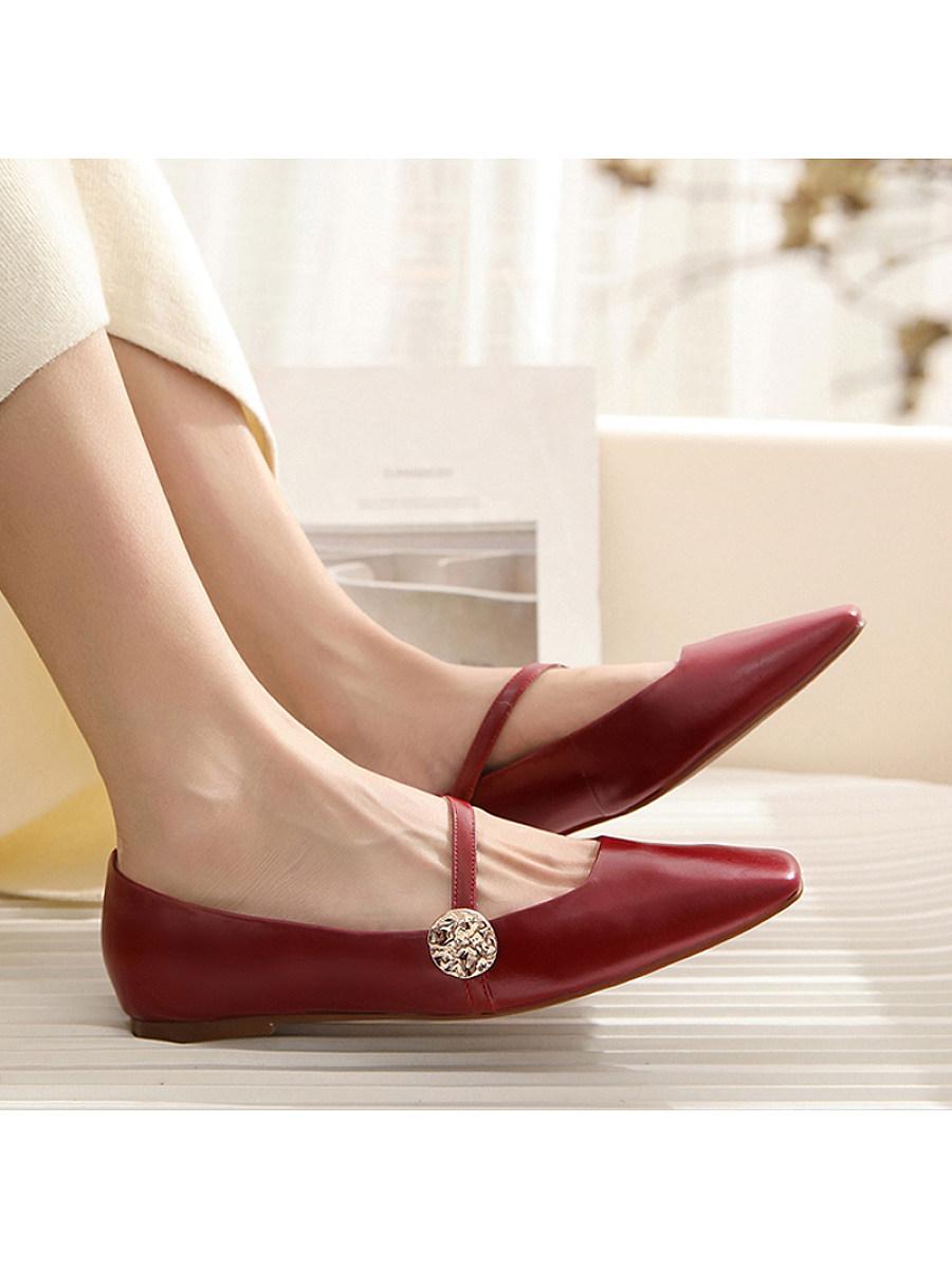 BerryLook Women's fashion flat shoes