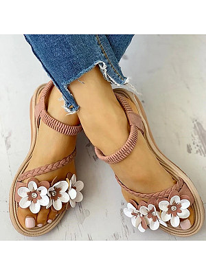 Beach shoes flat Roman shoes, 11332687