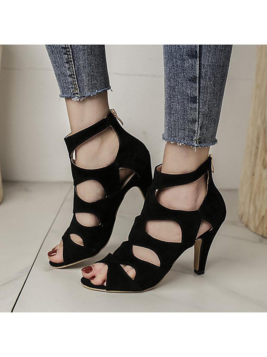 BerryLook Fishbill Fashion Stiletto Sandals