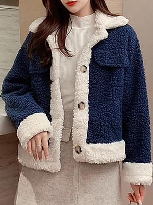 Fashion Warm Thick Lamb Fur Short Coat