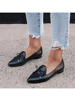 Pointed shallow mouth fashion casual shoes, 11165743