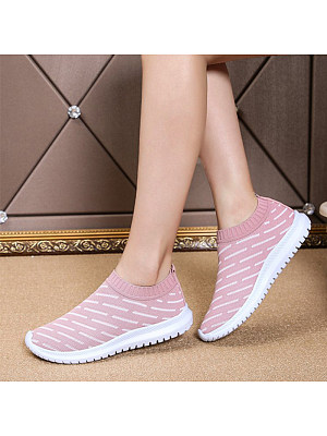 Casual Women Breathable Lightweight Non-slip Sneakers, 10963932