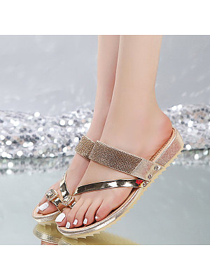 Flat fashion slippers, 11333332