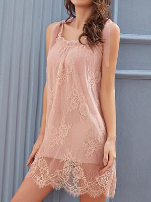 Fashion - pajama women\'s palace nightgown ladies lace halter skirt net dress sexy home wear