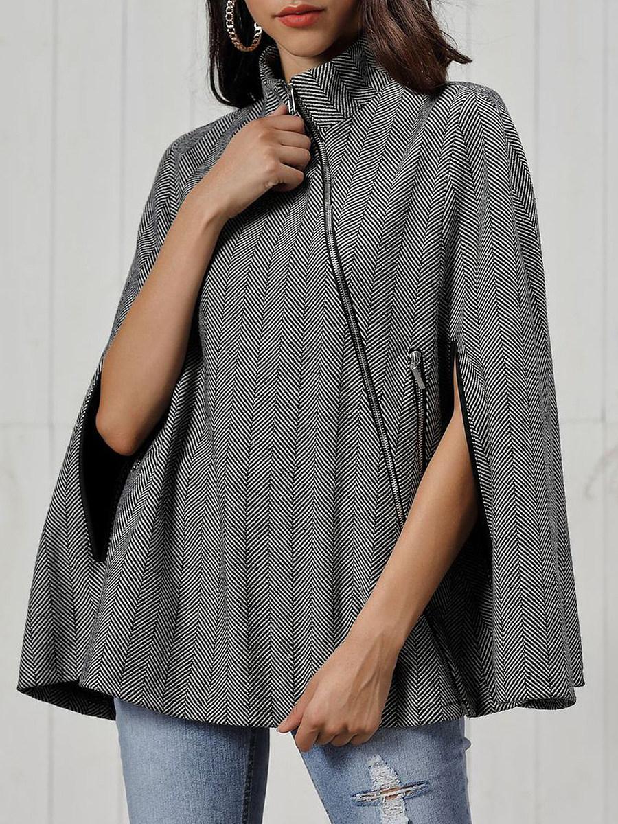 Women's Fashion Twill Woolen Cape Cloak - from $28.95