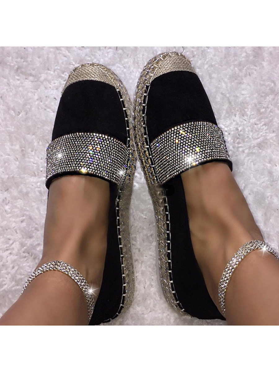 BerryLook Women's hot drilling casual Flat shoes
