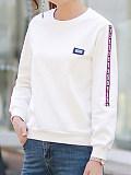 Image of Sasual loose long-sleeved sweatshirt