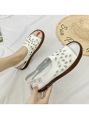Casual flat soft and comfortable open-toed sandals