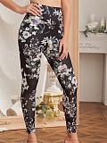 Image of Fashion printed slim leggings