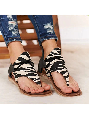 Stylish wild flat sandals, 23595873