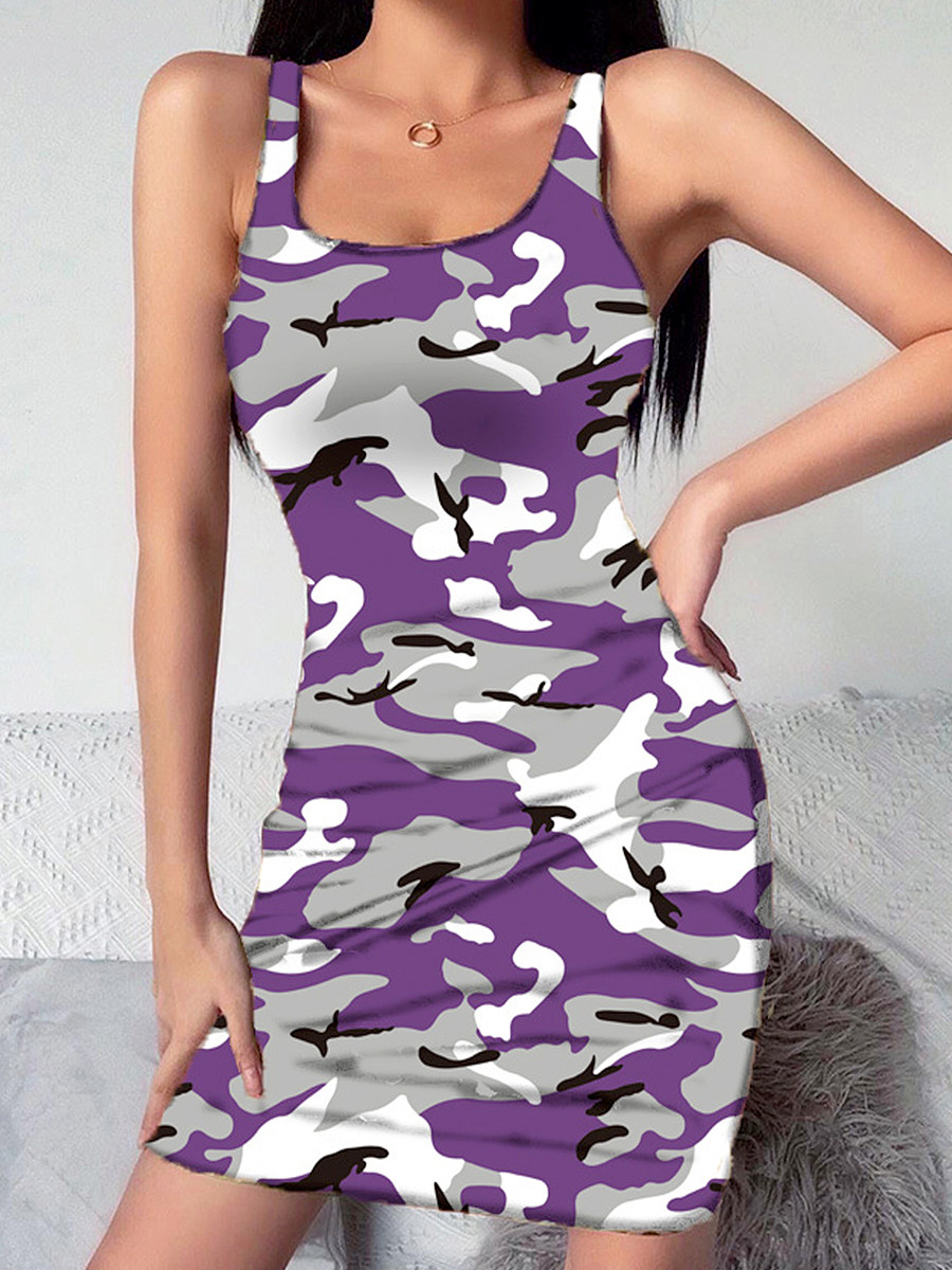 Boat Neck Plain Bodycon Dress