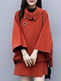 Image of Autumn Woolen Shorts Suit Two-Piece Suit