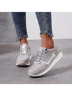 Women's wild rhinestone sneakers, 10967432