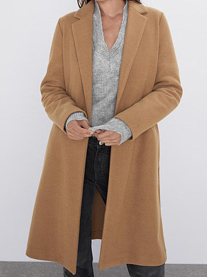 Temperament long coat, 10710701