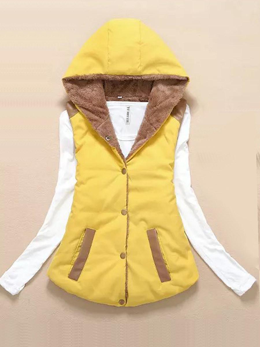 Fashion wild hooded Waistcoat