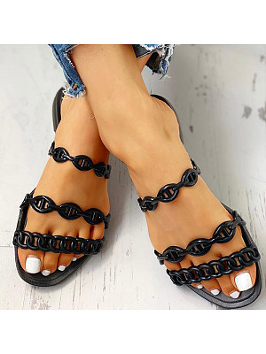 European and American summer fashion wear flat sandals, 11298077