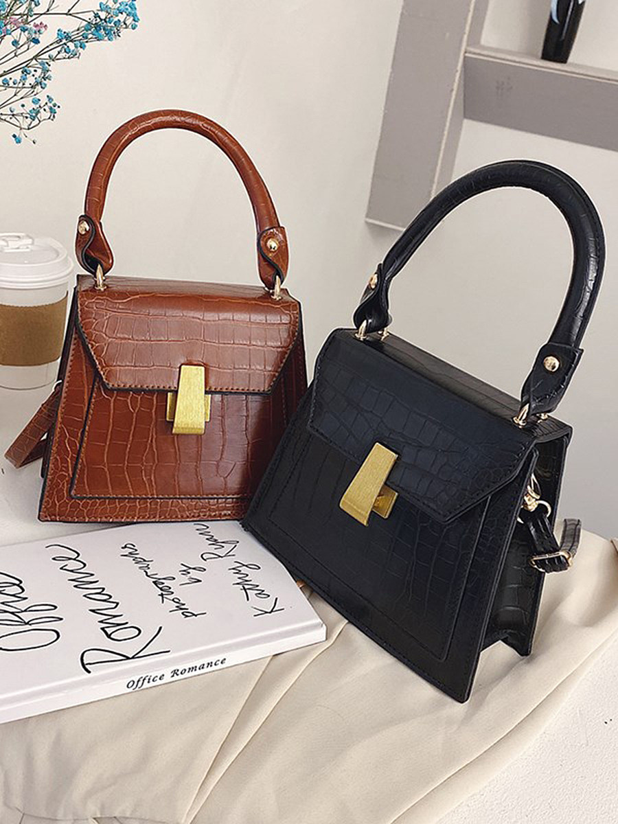 Net red with the crocodile pattern foreign style handbag 2020 new bags women shoulder bag Europe and America Messenger bag women