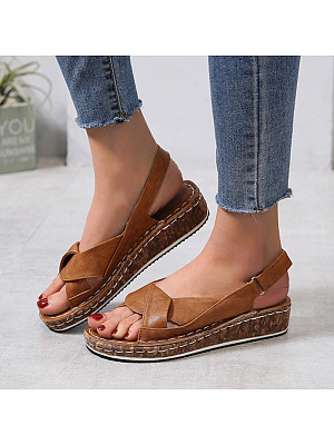 Comfortable wedge sandals фото
