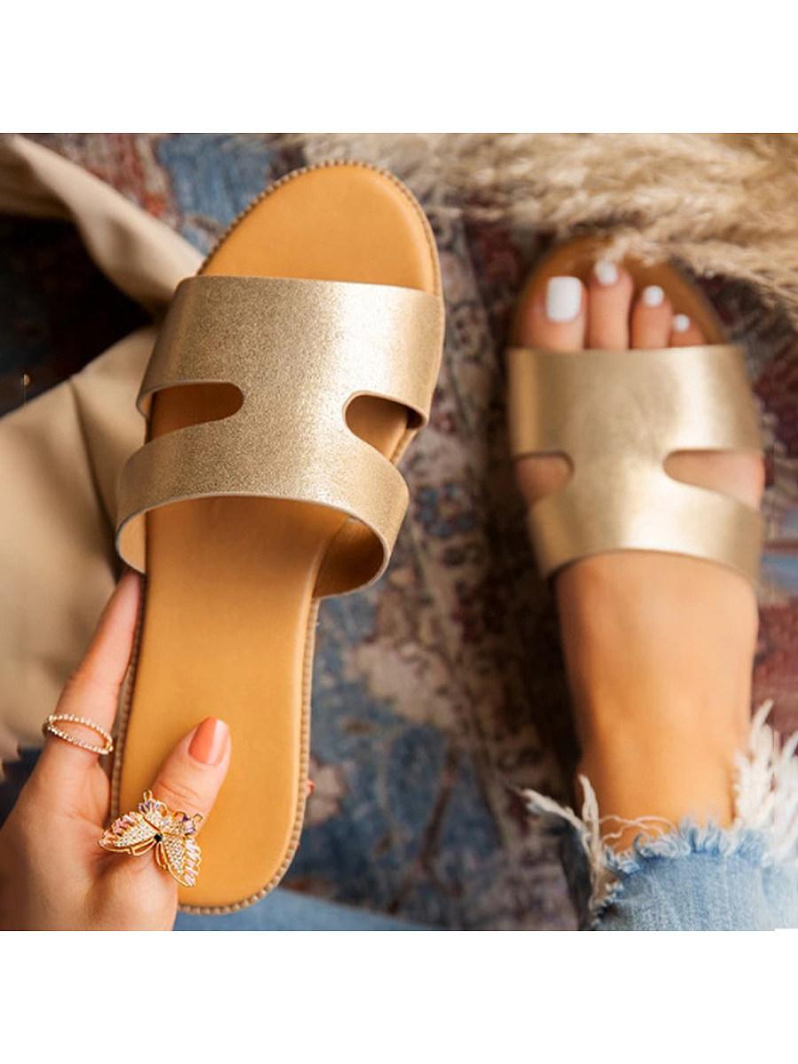 BerryLook Women's round bottom leopard print slippers