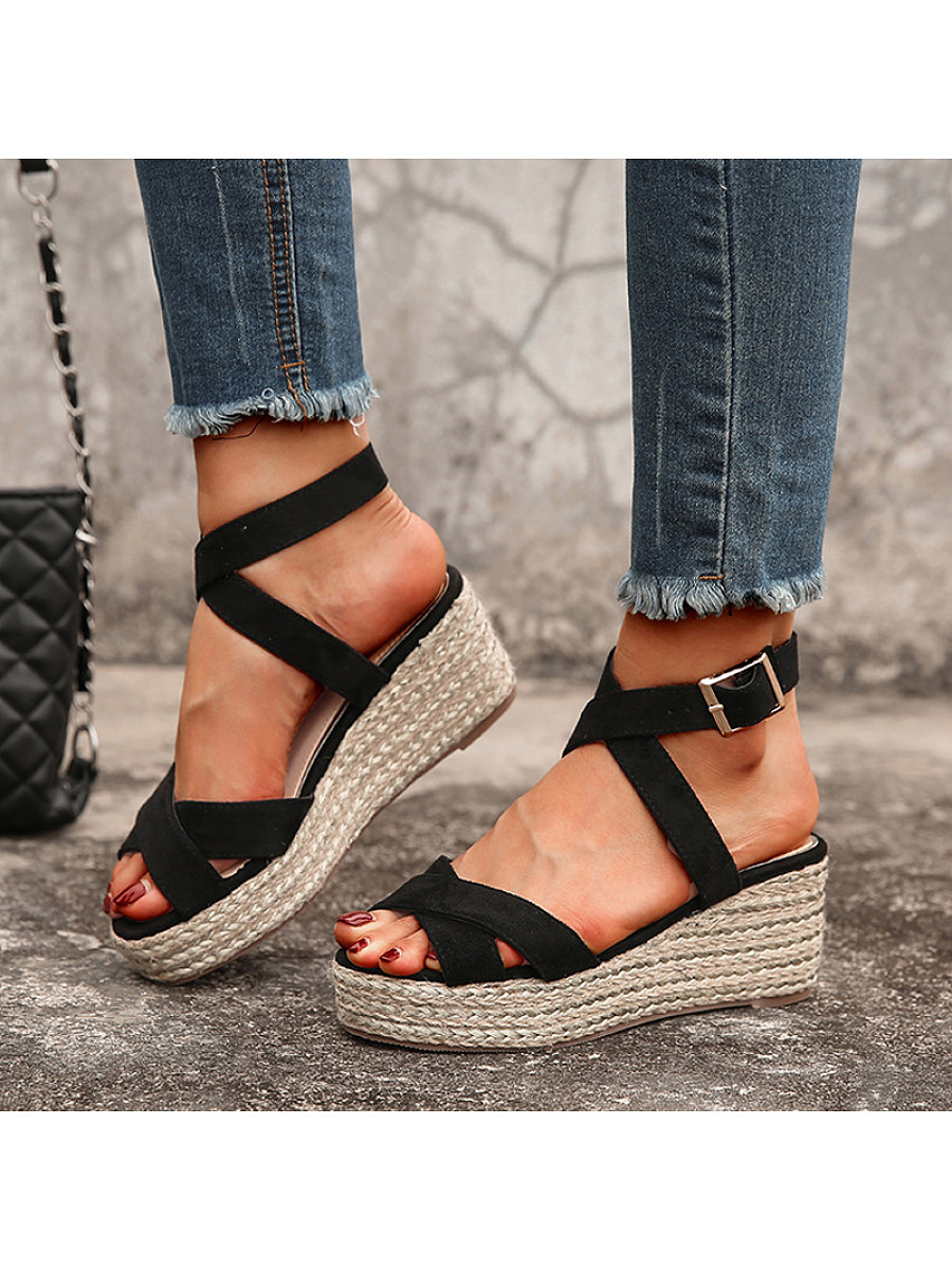 Women's fashion wedge sandals