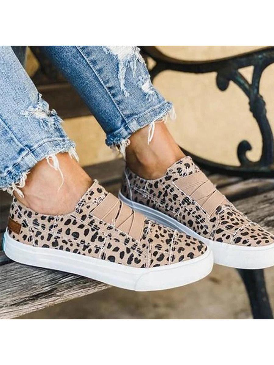 BerryLook Women's  flat casual sneakers