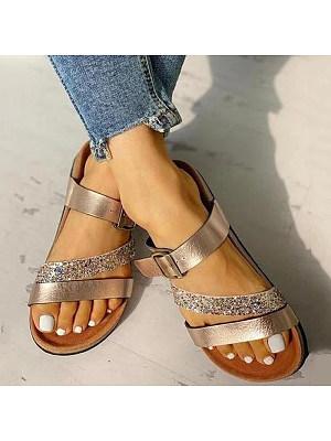 Women's comfortable flat slippers, 23937348