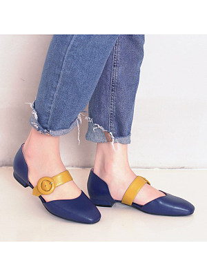 Flat Round Toe Casual Flat & Loafers, 11175243