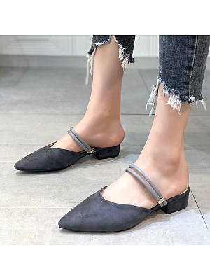Fashion pointed toe sandals фото