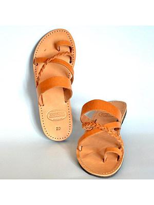 Women's Cross Strap Toe Slippers