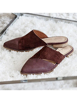 Fashion flat pointed sandals, 11231387