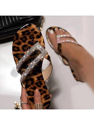 Leopard casual fashion beach sandals, 11322039