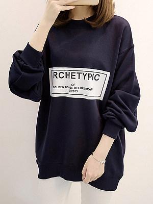 Fashion Print Sweatshirt