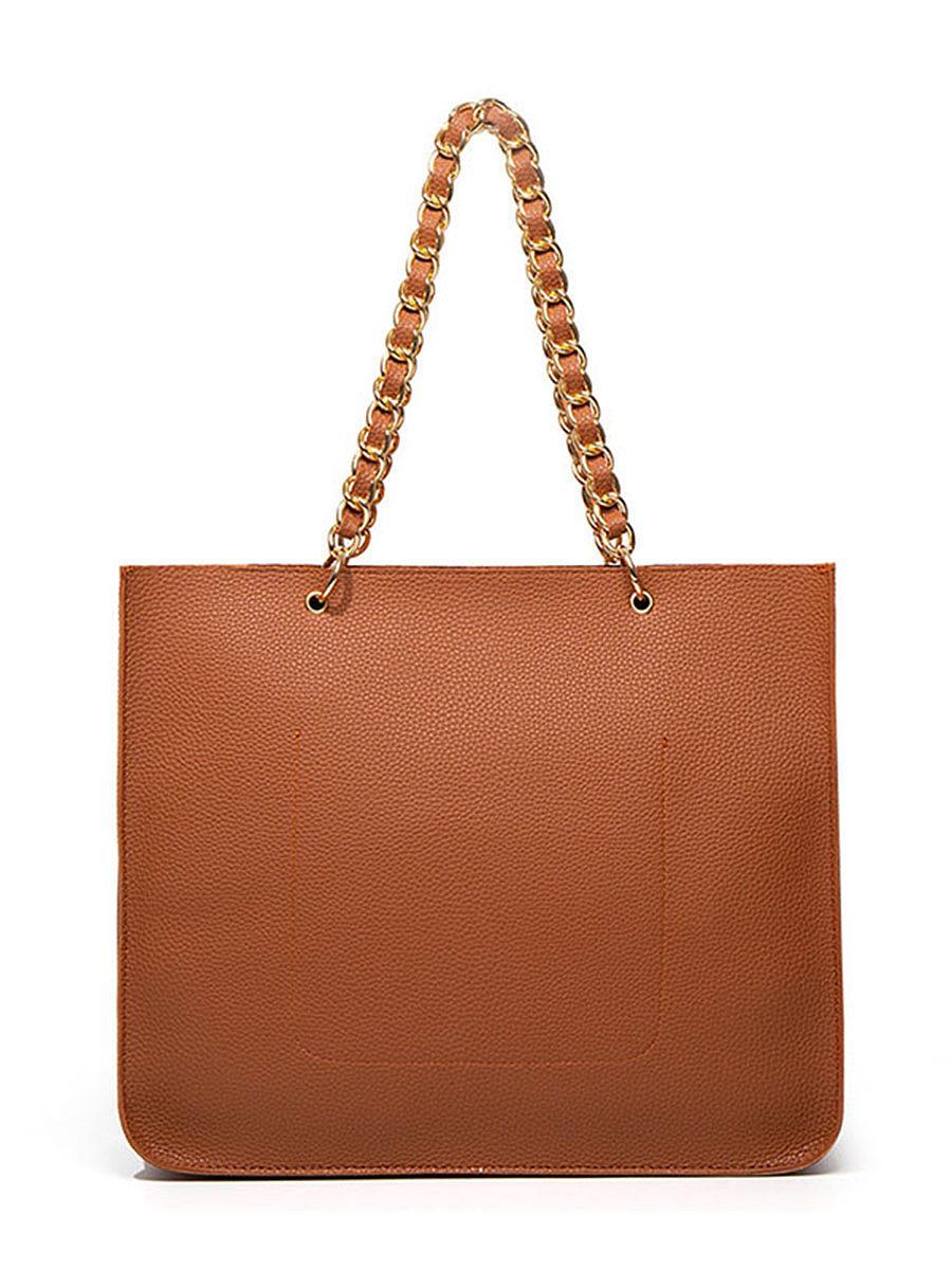 Lychee pattern shoulder tote bag