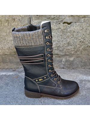 BERRYLOOK Women's Comfortable Flat Boots