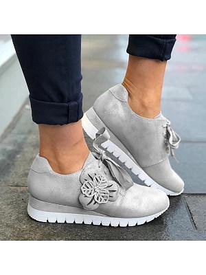 Rhinestone Women Fashion Round Toe Non-slip Sneakers, 10872694