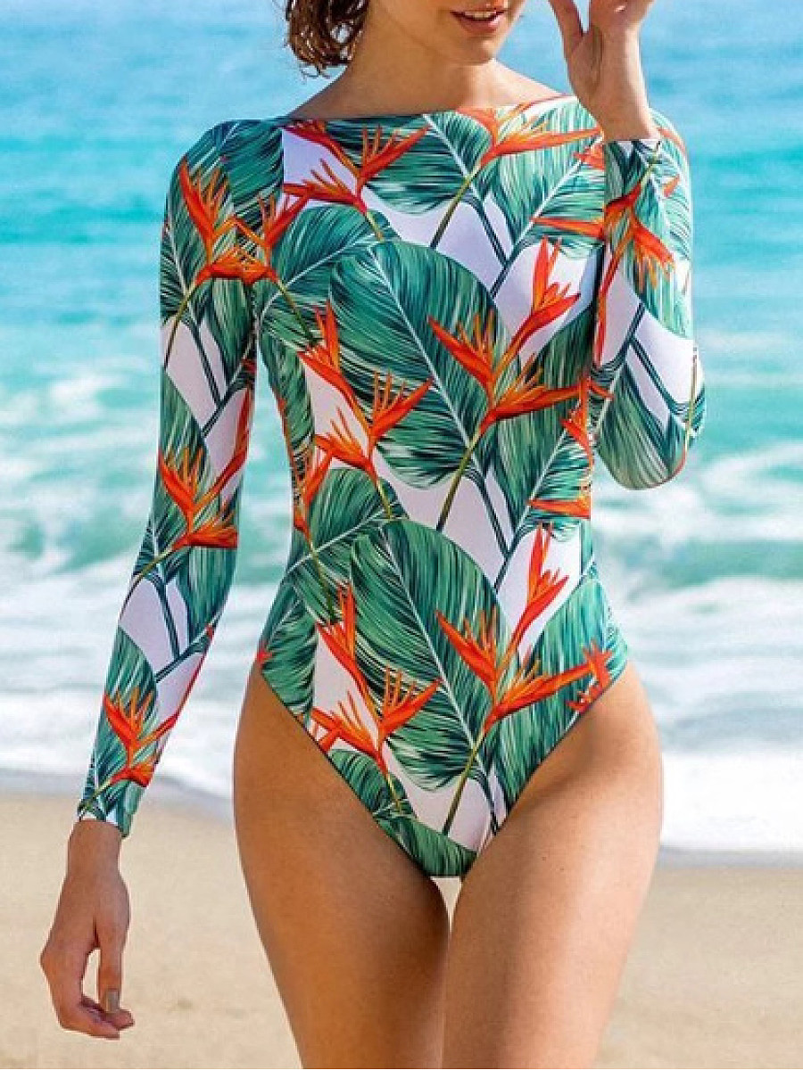 BerryLook Sexy beach one-piece swimsuit