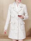 Image of Small fragrance jacket mid-length temperament jacket