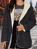 Image of Long Sleeve Composite Plush Coat