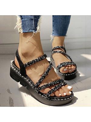 European and American fashion sandals