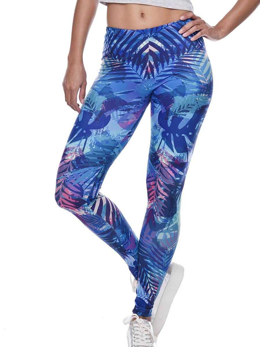 3D digital printed stretch yoga pants leggings