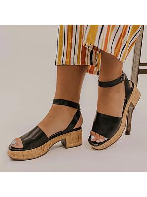 Vintage wedge sandals, 23588628