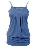 Image of Plain Sleeveless T-shirt