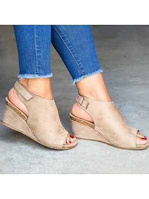 Stylish and comfortable wedge sandals, 23769241