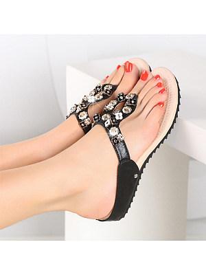 Women's fashion beach flip-flops