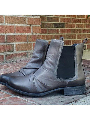 Berrylook coupon: Mid-tube Stitching Martin Boots