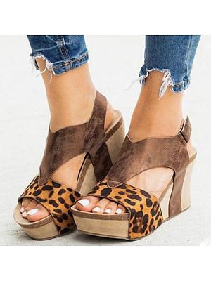 Women's fashion comfortable wedge sandals, 24079545