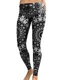 Image of Autumn and winter fashion digital printing sports leggings