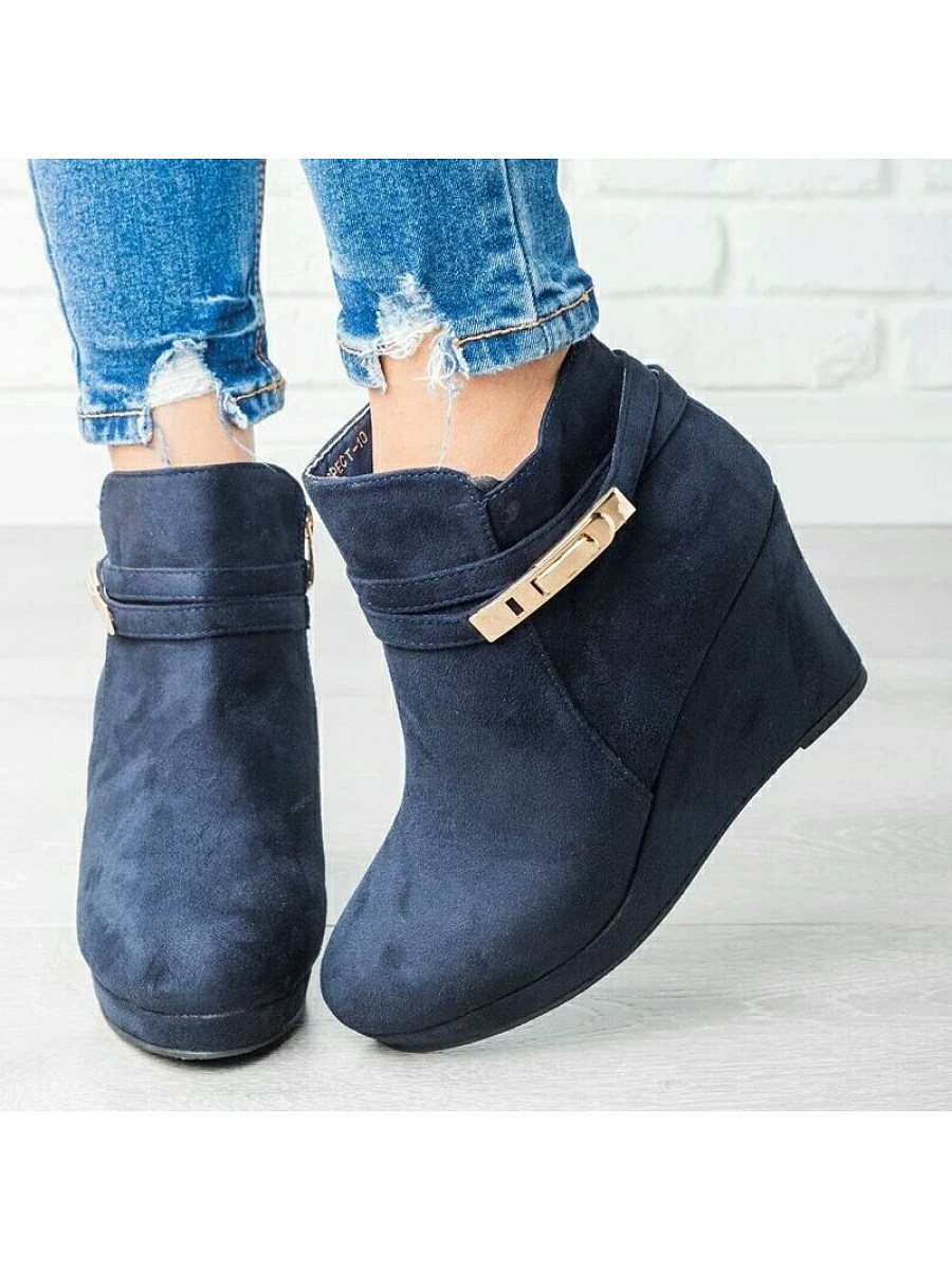 Thick bottom wedge with Martin boots - from $26.95