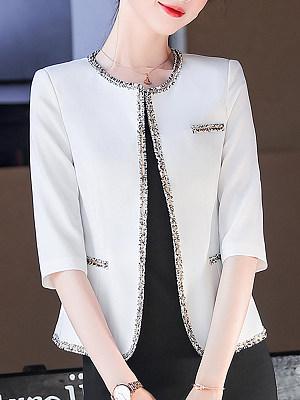 Women's Cropped sleeve Blazer