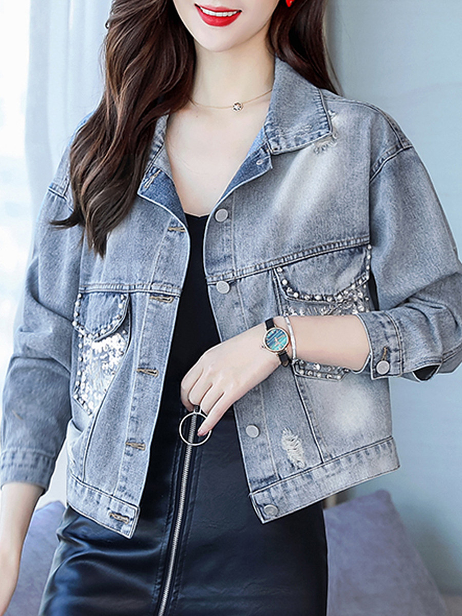Loose-Fit Loose Jacket